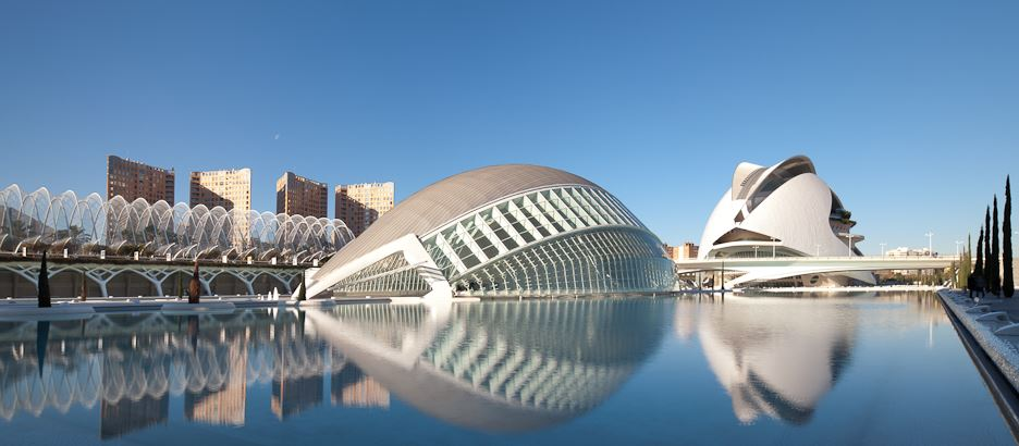 Valencia city of arts and sciences